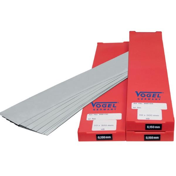 cuộn căn lá đồng 0.020mm 462020, khổ 2500x150mm. Vogel Germany