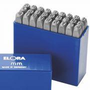 bộ đục chữ Elora 400b-6