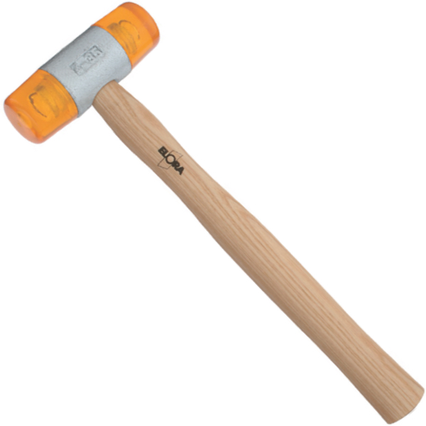 Búa 2 đầu nhựa 22mm ELORA 1660-22, soft face hammer 22mm.