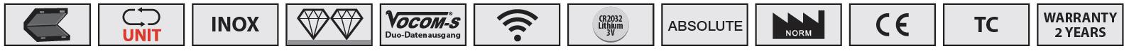 tính năng tiêu biểu của thước đo cao Vogel Germany.