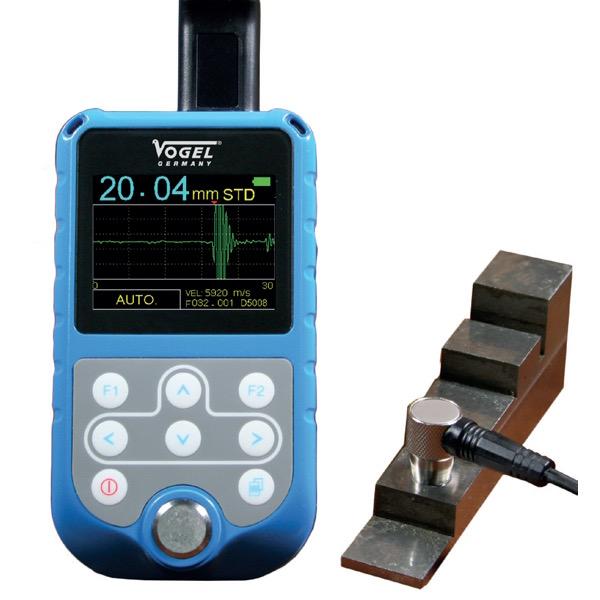 Máy siêu âm đo độ dày kim loại Vogel 480130, 02 kênh Echo-Echo System.