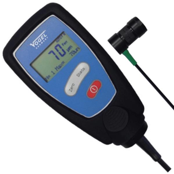 480237 Máy đo độ dày lớp sơn chống thấm nước, cấp bảo vệ IP52, 2 nền kim loại.