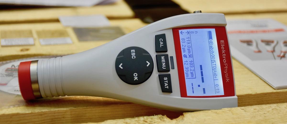 MiniTest 725 cảm biến tích hợp, nhiều lựa chọn. ElektroPhysik.