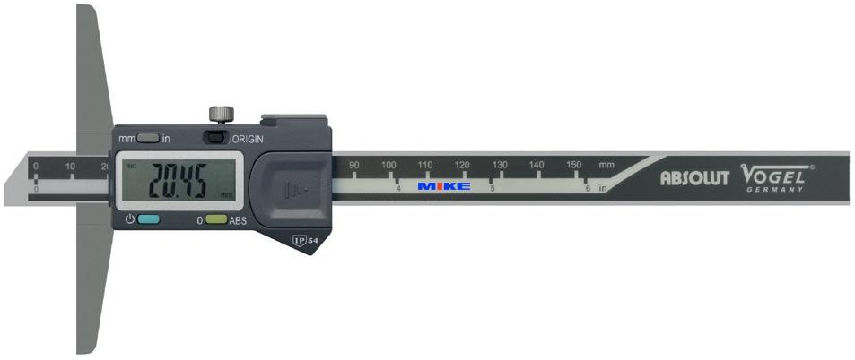 Thước đo sâu điện tử Vogel Germany.