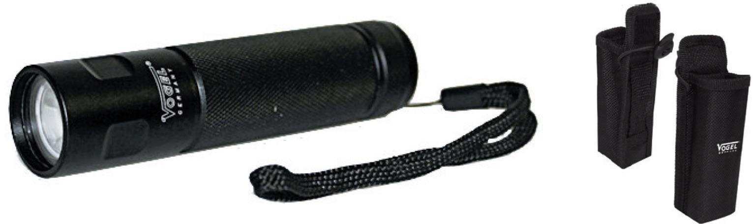 đèn pin bỏ túi chiếu sáng nhấp nháy Vogel 601805