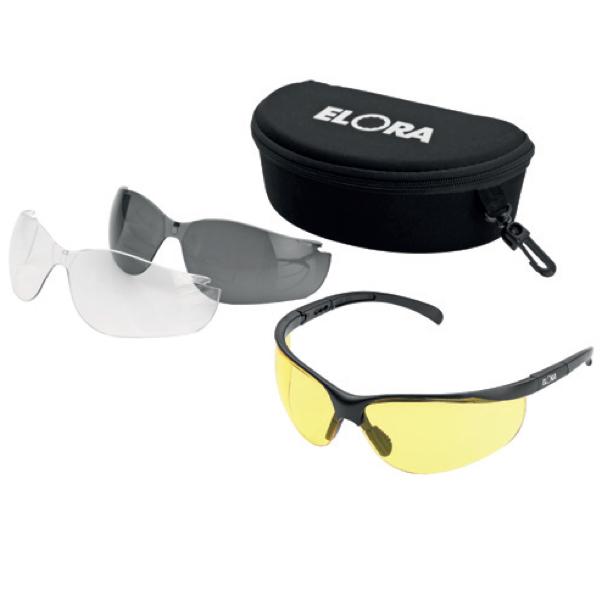 Kính bảo hộ thời trang, 03 lens thay đổi màu sắc. Safety goggles.