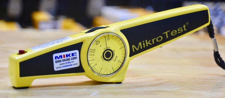 Máy đo bề dày lớp phủ bằng cơ học Mikrotest