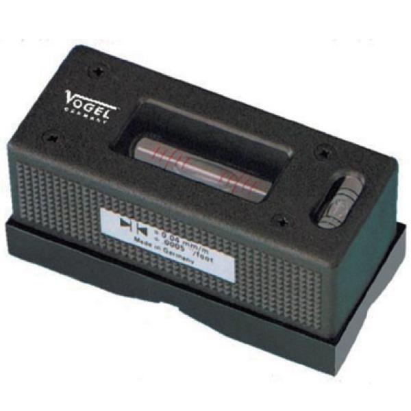 Nivo 90mm độ nhạy 0.1mm, chuyên dụng cân chỉnh trục, máy. Vogel 360293