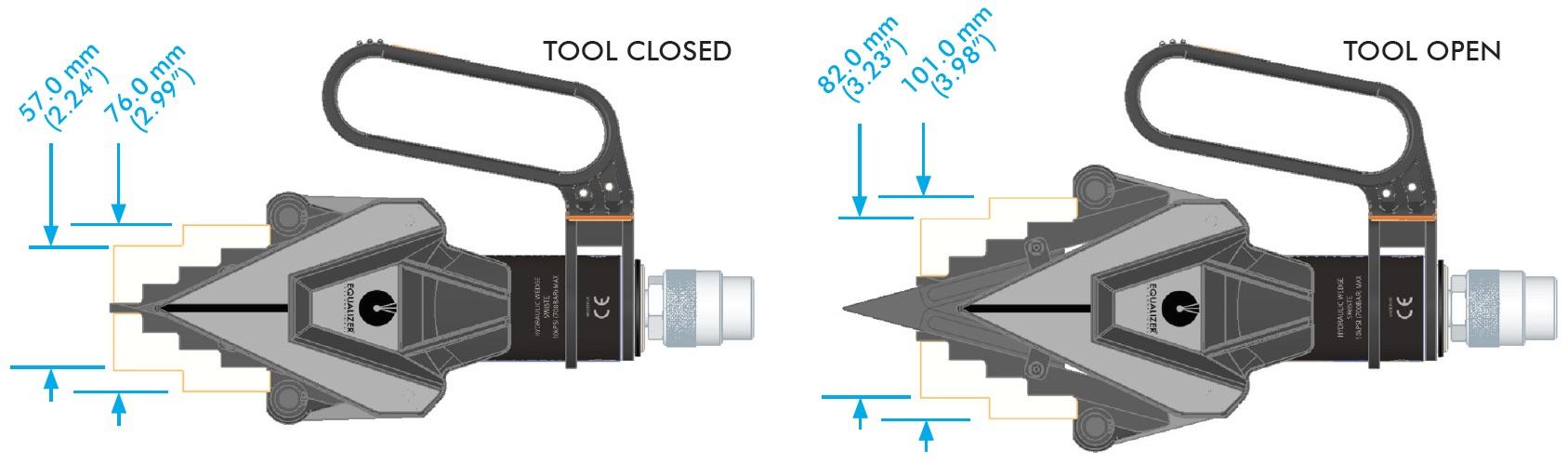 SWi0507TE khi dùng với khối chèn.