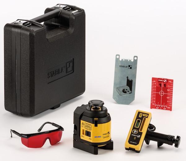 Bộ máy laser xây dựng 06 chi tiết, Stabila LAX400