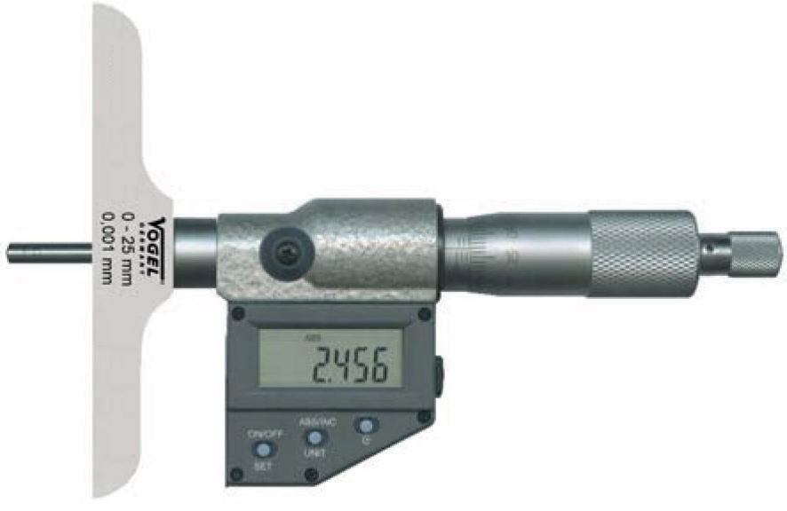 Panme điện tử đo độ sâu Vogel Germany.