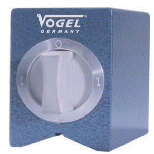 250212 đế từ phụ kiện 75x60x80 mm, cho đế gá đồng hồ so, ren M12.