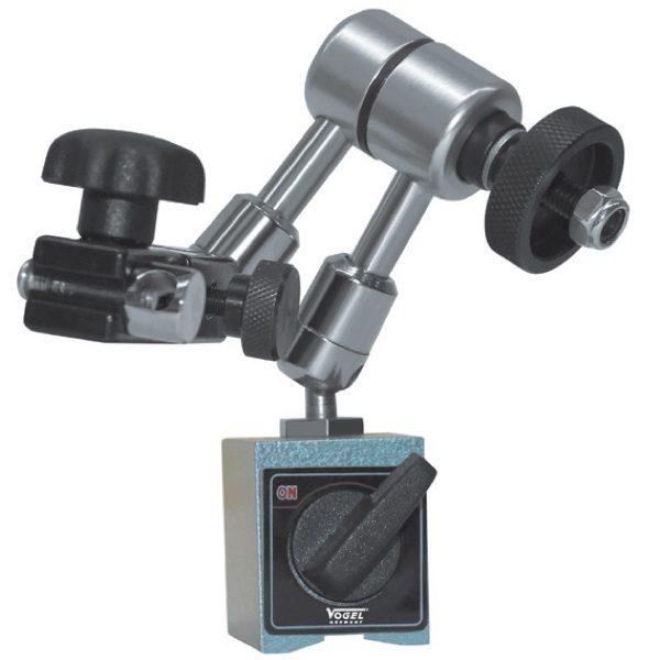 250319 chân đế gá đồng hồ so, 36x30x35mm, lực 300N, ta62m với 100mm.