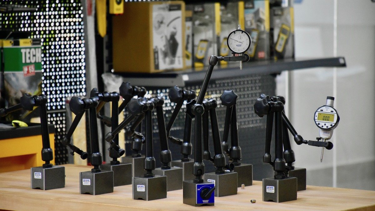 250332 đế gá đồng hồ so Vogel 74x55x50mm
