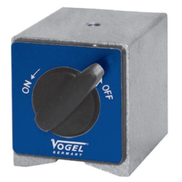 252010 đế từ phụ kiện 58x50x55 mm, cho đế gá đồng hồ so, ren M8.