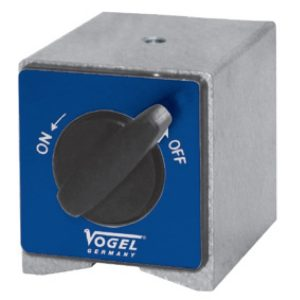 252012 đế từ phụ kiện 74x50x55 mm, cho đế gá đồng hồ so, ren M8.