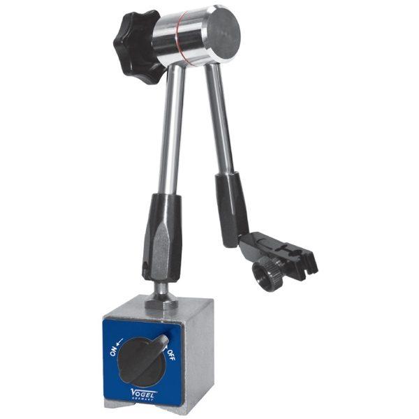 255001 chân đế từ gá đồng hồ so, 65x50x55mm, lực 600N, với 330mm.