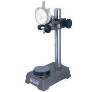 Đế gá đồng hồ so 258011, tầm với 75mm, đường kính trụ chính 25mm.