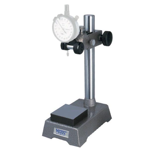 Đế gá đồng hồ so 258013, tầm với 75mm, đường kính trụ chính 25mm.