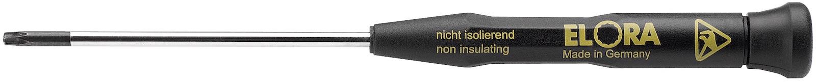 Tuốc nơ vít đầu hoa thị chống tĩnh điện ESD. Made in Germany.