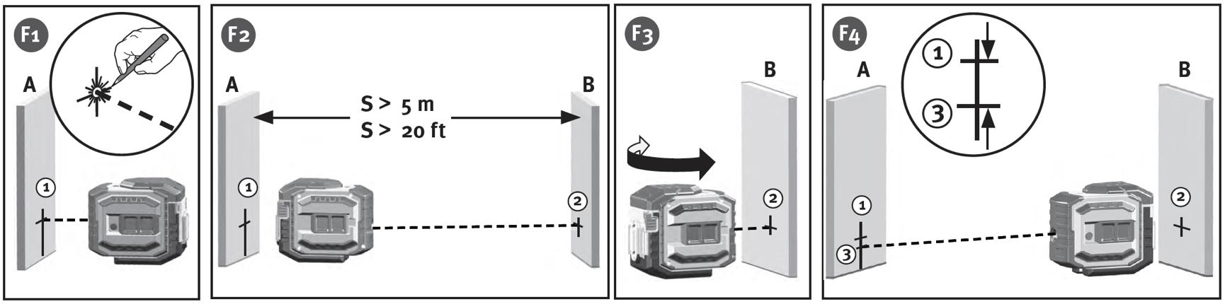 Hiệu chỉnh phương ngang cho máy bắn cốt laser LA-5P