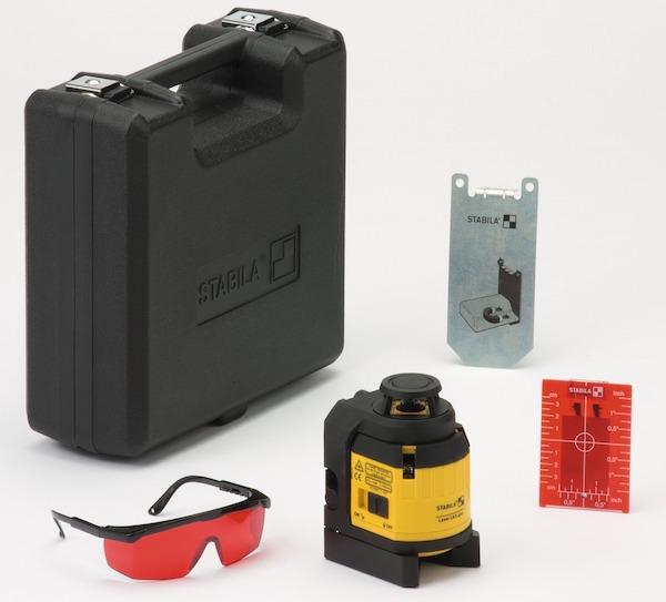 Bộ máy laser xây dựng 5 món. LAX400. Stabila.