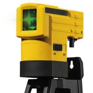 Máy cân bằng laser tia xanh LAX50G, khoảng cách 30m, chống nước cấp bảo vệ IP53