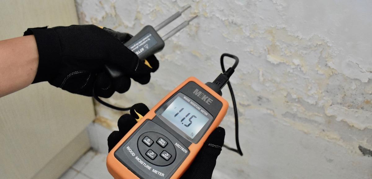 Đo độ ẩm tường, bê tông, hướng dẫn cách đo. Mike