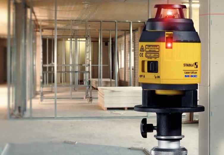 Máy chiếu tia laser trong xây dựng, trang trí nội thất. LAX400.