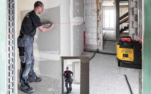 Sự trợ giúp của máy laser xây dựng trong thi công hệ thống điện. LAX400
