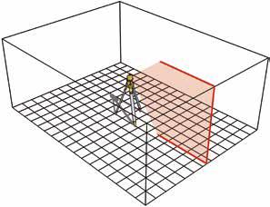 máy laser cân trục đứng trong xây dựng. Stabila