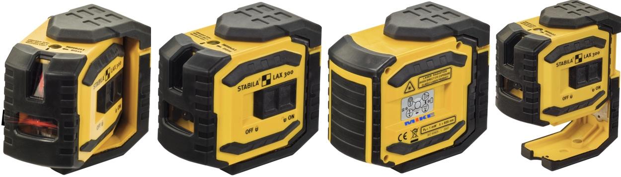 Xoay linh hoạt của máy thủy bình laser LAX-300