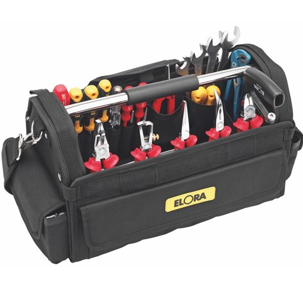 Giỏ đồ nghề xách tay chuyên dụng cho lắp đặt, bảo trì, chịu tải 12kg.