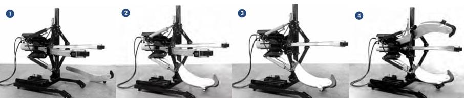 hoán chuyển 2-3 chấu linh hoạt của cảo thủy lực.