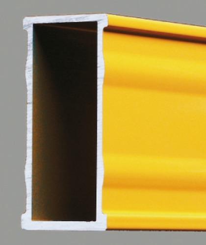kết cấu khung nhôm của thước thủy nivo điện tử