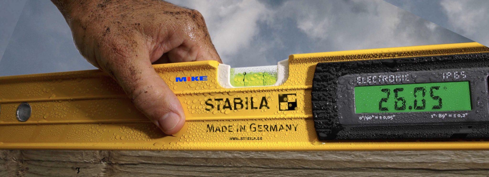 Thước thủy nivo điện tử Stabila Germany.