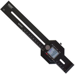 336320 thước thợ mộc điện tử 200mm, làm dấu, đo góc, cấp IP40