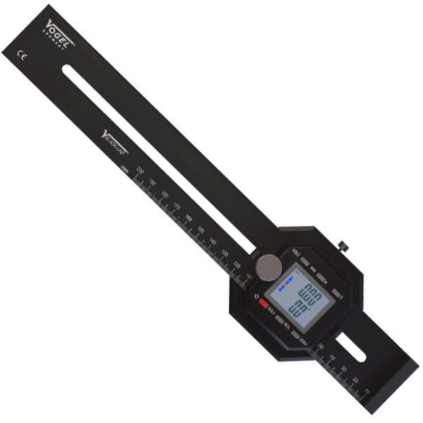 336325 thước thợ mộc điện tử 250mm, làm dấu, đo góc, cấp IP40