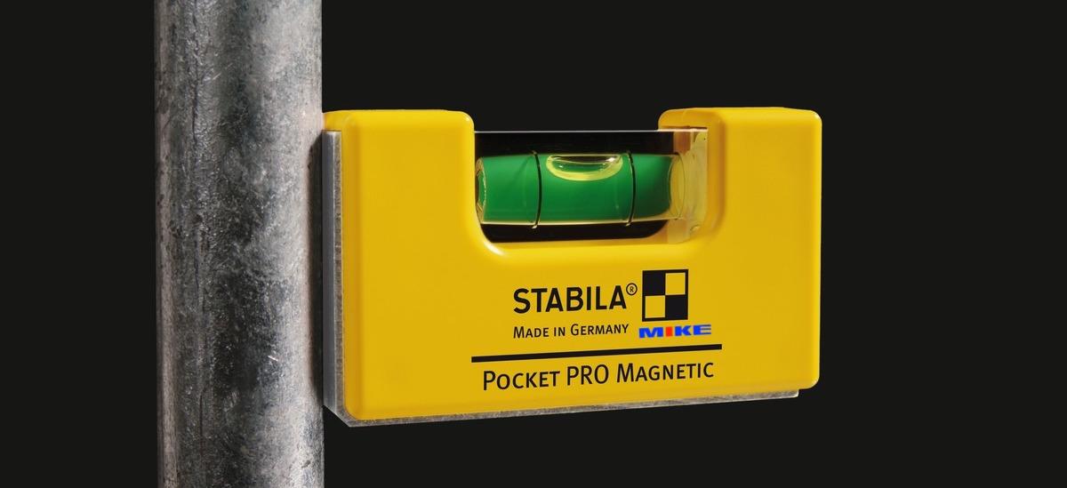 Cạnh nam châm của thước thủy 7cm. PRO Magnetic