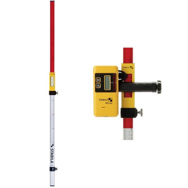 07468 thước chỉnh mức cho bộ thu tín hiệu của máy cân bằng laser