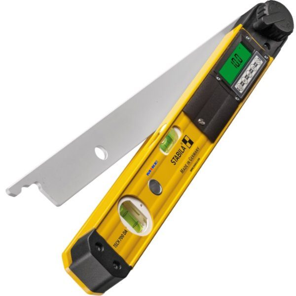 Thước thủy điện tử đo góc nghiêng 450mm, chức năng 3 trong 1. TECH 700 DA