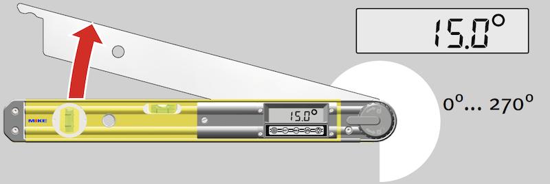 Cách dùng thước đo góc điện tử Stabila TECH 700DA