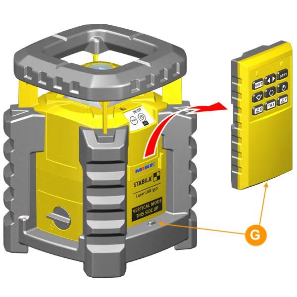 Motion control cho máy cân bằng tia laser xoay LAR-350