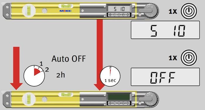 Bắt đầu sử dụng thước đo góc điện tử TECH 700DA