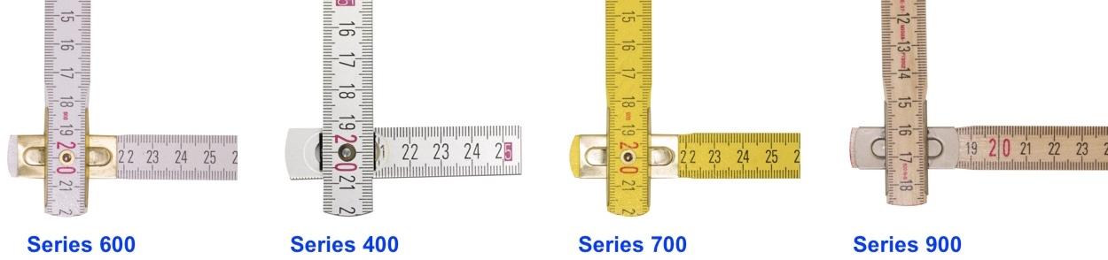 Các kiểu khớp xoay của thước gỗ Stabila