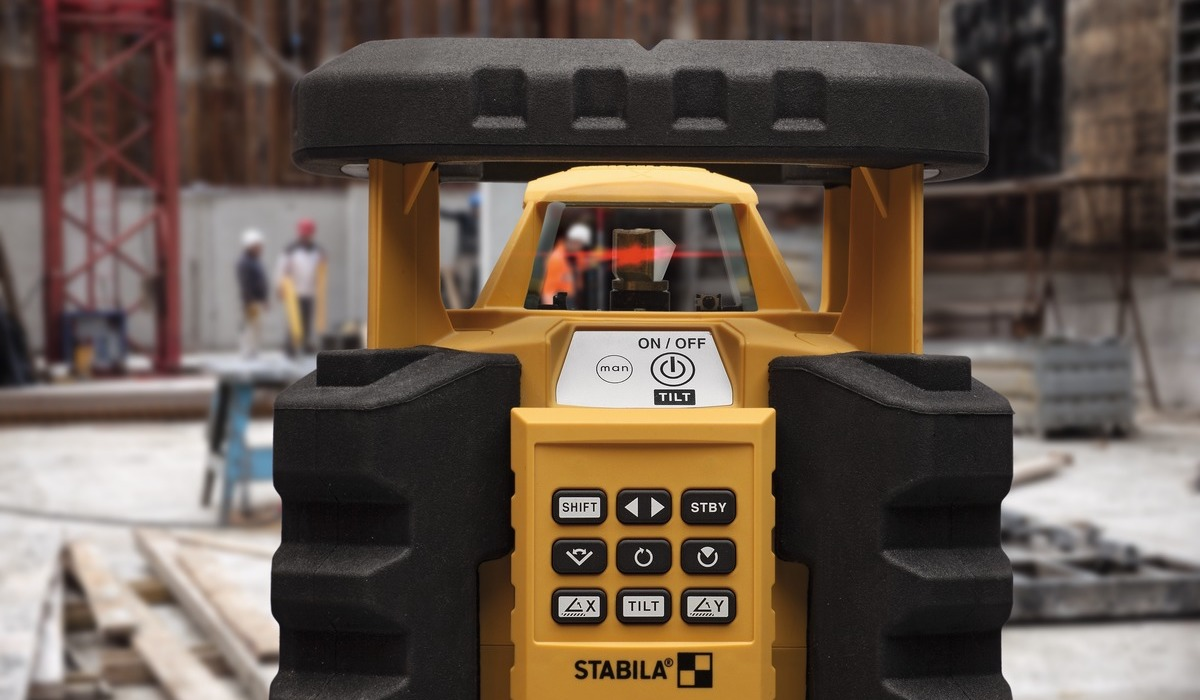 Máy cân bằng laser xoay LAR350, tự động hoàn toàn