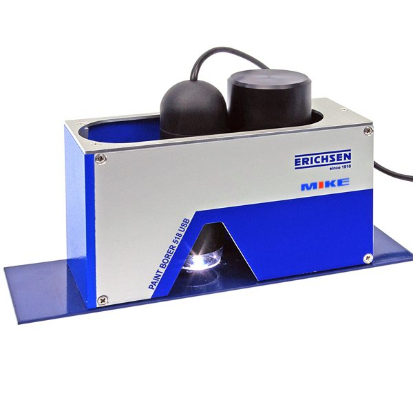 Máy đo độ dày lớp phủ đa năng Paint Borer 518 MC, đo trên mọi loại vật liệu nền. Đo đơn lớp trên nền đa lớp. ElektroPhysik Germany.