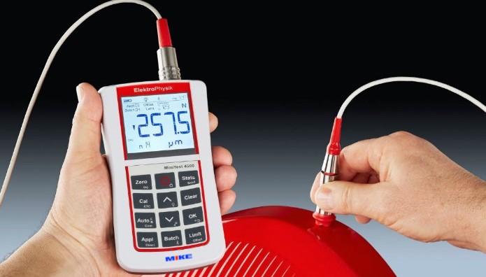 Minitest 2500 - 4500 máy đo độ dày lớp phủ Elektrophysik