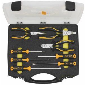 504-S8 bộ kìm đa năng và tuốc nơ vít, 8 chi tiết, vali nhựa chuyên dụng.