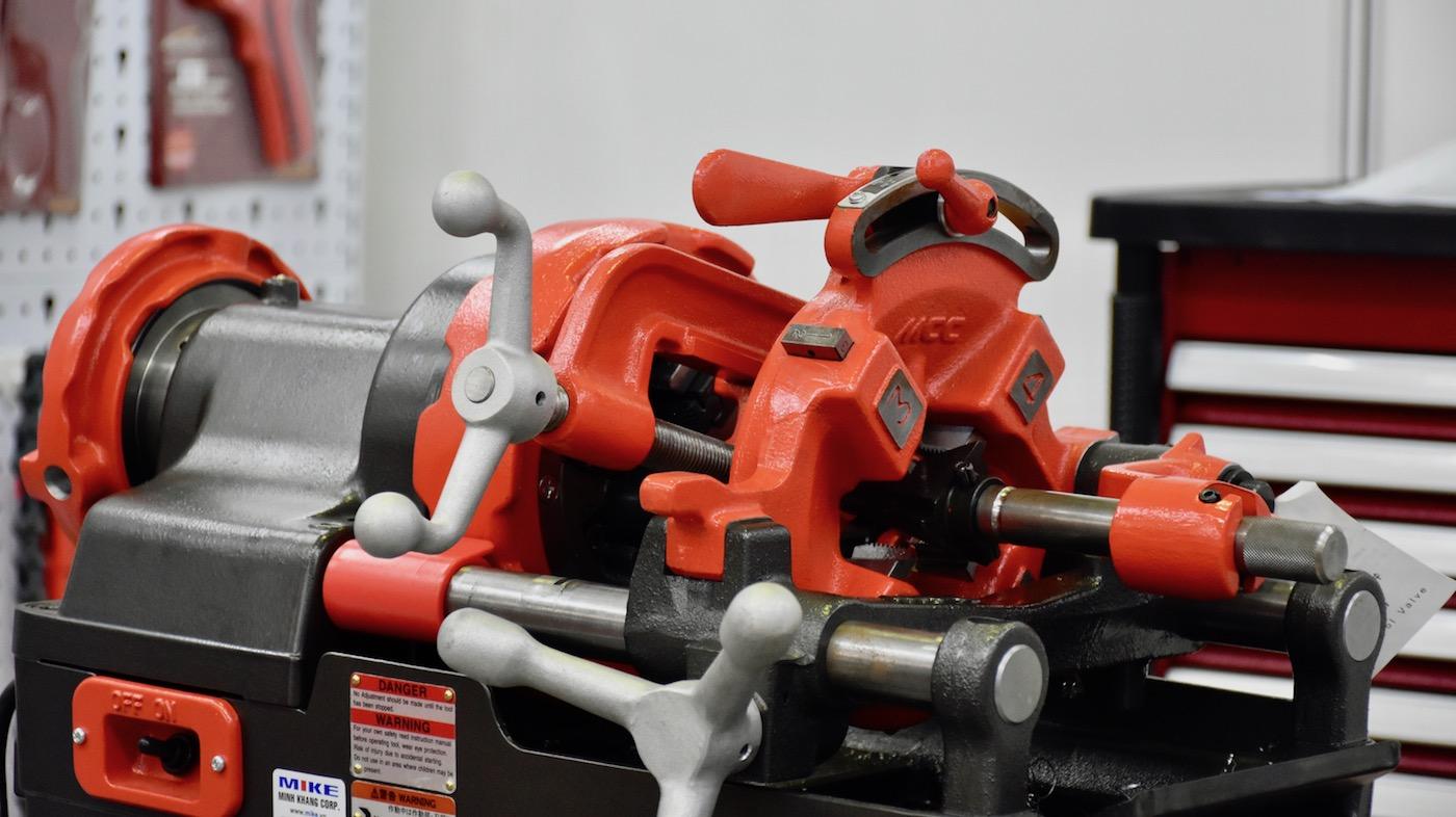 Máy tiện ren ống tới 2 inch MCC500
